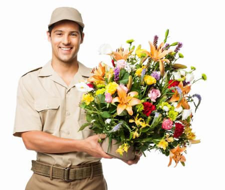 Заказ доставки цветов оригинальное поздравление женщине в подарок самовар